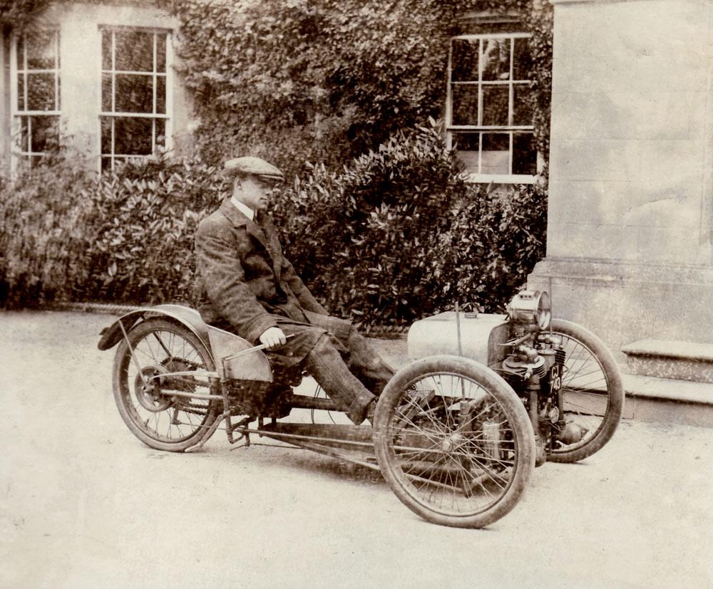 A Short History of the Morgan Motor Company - Morgan Car Club ...