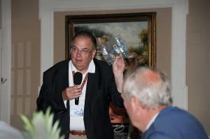 Bruce Trabb, auctioneer