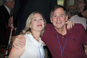 Rich Fohl's sister & Doug Markham